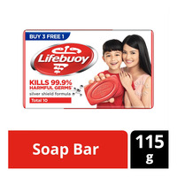 Lifebuoy Bar Soap - Total 10