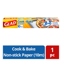 Glad Cook & Bake Non-stick Paper (10m)