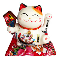 Imported Fortune Cat CNY Decoration - Ping An