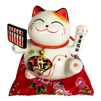 Imported Fortune Cat CNY Decoration - Abacus