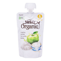 Heinz Organic Baby Puree Pouch - Creamy Vanilla Rice with Apple