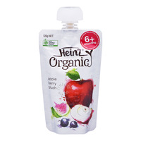 Heinz Organic Baby Puree Pouch - Apple Berry Blush