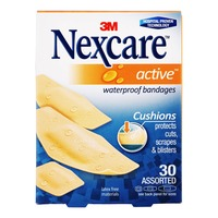 3M Nexcare Waterproof Bandages - Active