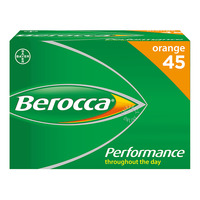 Berocca Performance Effervescent Tablets - Orange