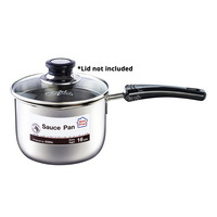 HomeProud Sauce Pan with Cesar 16cm Glass Cover