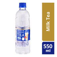 Suntory Premium Transparent Tea Bottle Drink - Milk Tea 550ML
