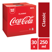 Coca-Cola Can Drink - Original 30 x 250ML (CTN)