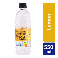 Suntory Premium Transparent Tea Bottle Drink - Lemon 550ML