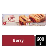 Tesco Frozen Strudel - Berry