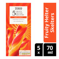 Tesco Ice Lollies - Fruity Helter Skelters