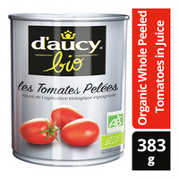 Daucy Organic Whole Peeled Tomatoes in Juice