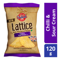 Seabrook Lattice Potato Crisp - Chilli & Sour Cream