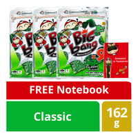 Tao Kae Noi Big Bang Grilled Seaweed - Classic + Free Notebook