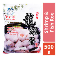 Jing Li Hwa Fishball with Shrimp and Fish Roe Filling
