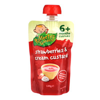 Rafferty's Garden Baby Custard Dessert - Strawberries & Cream