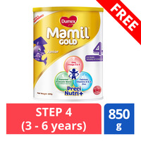FREE Dumex Mamil Gold Growing Up Milk Formula - Step 4