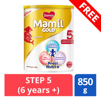 FREE Dumex Mamil Gold Growing Up Milk Formula - Step 5