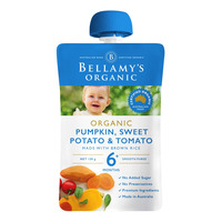 Bellamy's Organic Ready to Eat Baby Food - Pumpkin&TomatoRisotto