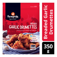 Farmpride Frozen Breaded Garlic Drumettes