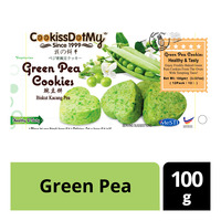 Cookiss Dot My Cookies - Green Pea