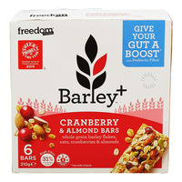 Freedom Foods Barley+ Bars - Cranberry & Almond