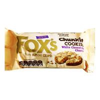 Fox's Chunkie Cookies - White Chocolate Chunks