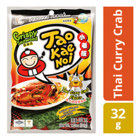 Tao Kae Noi Crispy Seaweed - Thai Curry Crab