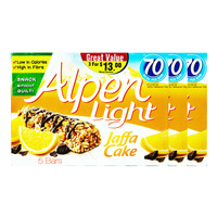 Alpen light cereal bars jaffa cake from fairprice diffmarts singapore alpen light cereal bars jaffa cake aloadofball