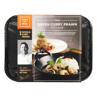 Chef-in-Box Ready Meal - Thai Green Curry Prawn with Rice