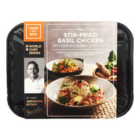 Chef-in-Box Ready Meal - Thai Stir Fried Basil Chicken with Rice