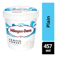 Haagen-Dazs Frozen Yogurt - Plain