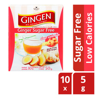 Gingen Instant Ginger Powder - Sugar Free (Low Calories)