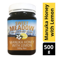 Sweet Meadow Manuka Honey - Lemon