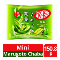 Nestle Kit Kat Mini Chocolate Bar - Marugoto Chaba (Matcha)