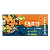 Quorn Frozen Vegan Fishless Fingers