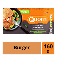 Quorn Frozen Vegan Burger