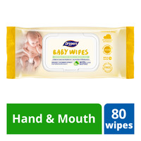 Drypers Baby Wipes - Hand & Mouth