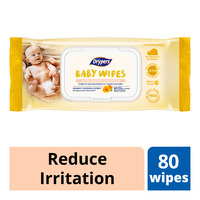 Drypers Baby Wipes - Reduce Irritation