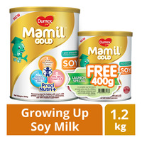 Dumex Mamil Gold Growing Up Soy Milk Formula