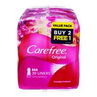 Carefree Original Panty Liners - Unscented