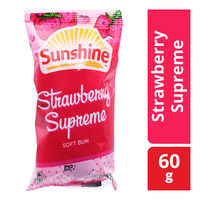 Sunshine Soft Bun - Straberry Supreme