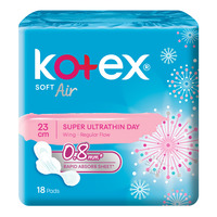 Kotex Soft & Smooth Air Super Ultrathin Pads-Regular(24cm)