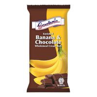 Gardenia Wholemeal Bread Cream Roll - Banana & Chocolate