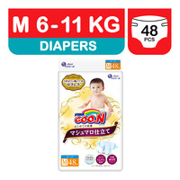 GOO.N Marshmallow Premium Soft Diapers - M (6 - 11kg)
