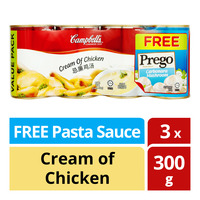 Campbell's Condensed Soup - Cream of Chicken + Pasta Sauce