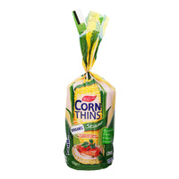 Real Foods Organic Corn Thins - Sesame