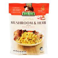San Remo Pasta Meal - Mushroom & Herb