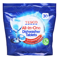 Tesco All in One Dishwasher Tablets - Original