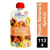 Plum Organics Purees - Peach, Banana & Apricot