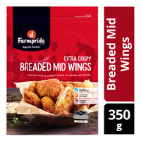 Farmpride Frozen Breaded Mid Wings